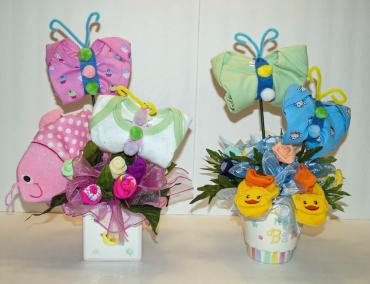 Blooms & Butterflies For Baby
