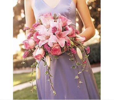 Teleflora\'s Pink on Pink Bouquet