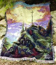 Sunrise Cross Sympathy Throw