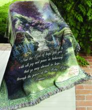 Garden of Hope Tapestry Throw