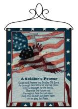 Soldier\'s Prayer Bannerette