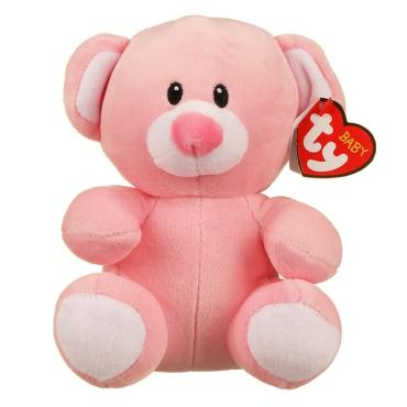 Ty Baby Princess the Pink Bear