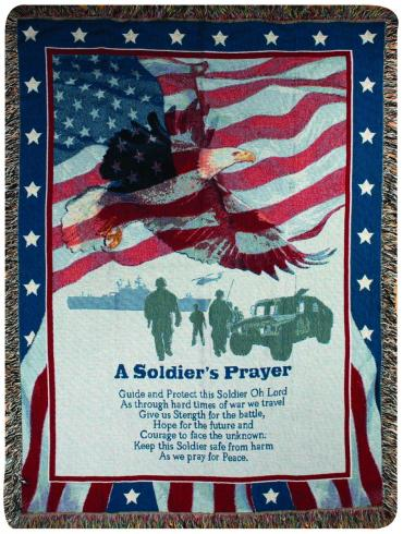 Soldier\'s Prayer Throw