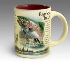 Stoneware Coffee Mug - Rainbow Trout