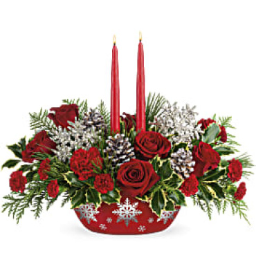 Winter\'s Eve Centerpiece