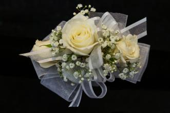 Three Rose Corsage